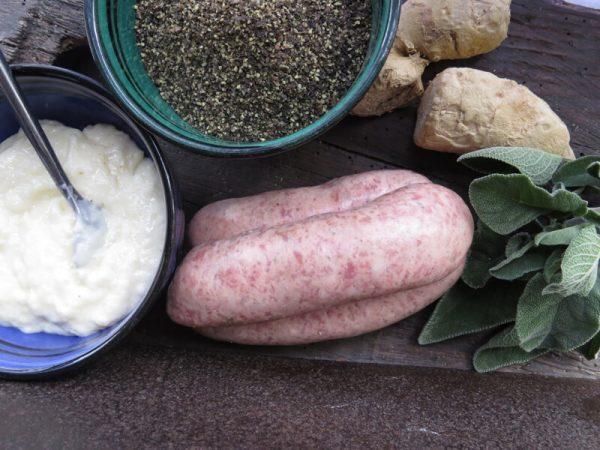 Beef & Horseradish Sausage
