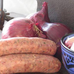 Pork & Red Onion